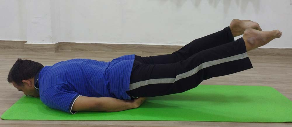Shalabhasana-sciatica-constipation-slipped-disc