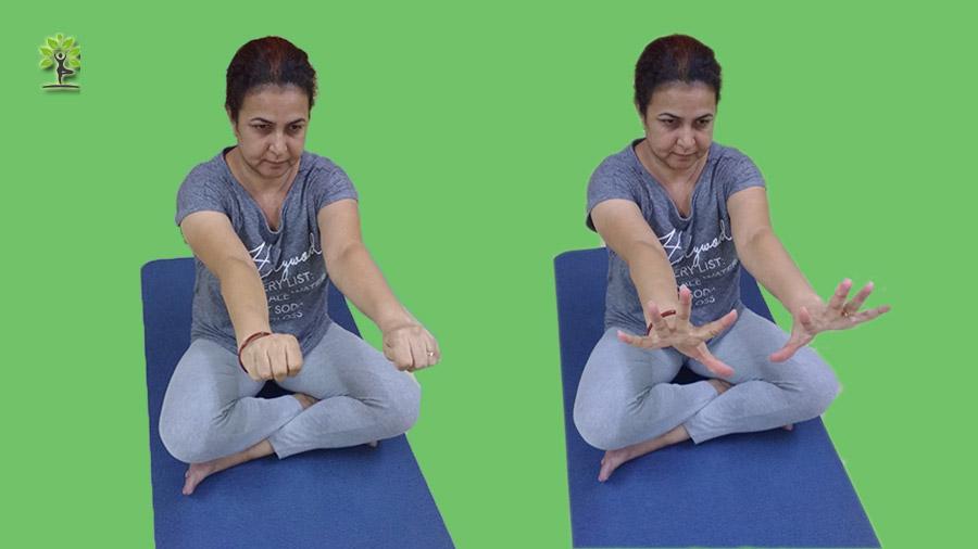 Hand-Clenching-Mushtika-Bandhana