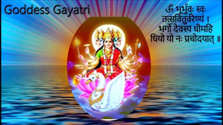 Goddess-Gayatri-Mantra